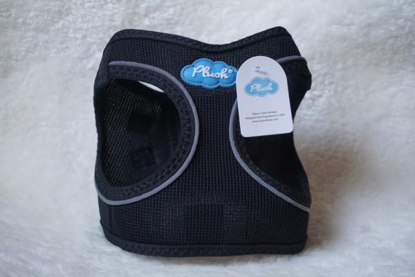 Plush Step In Air Mesh Harness Black
