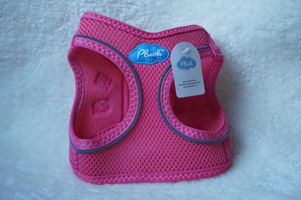 Plush Step In Air Mesh Harness Bubblegum Pink