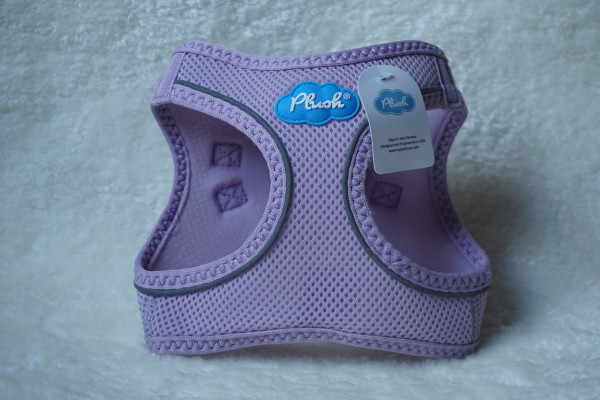 Plush Step In Air Mesh Harness Lavender Frost